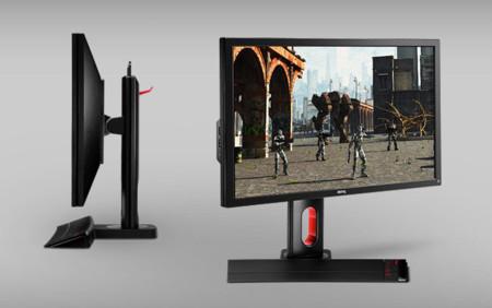 BenQ tiene tres nuevos monitores 'XL-Z' con los juegos como destino