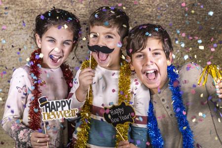 Cómo celebrar una fiesta de Nochevieja y recibir el Año Nuevo con los niños