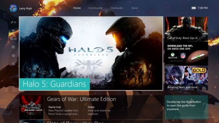 Vamos echarle un vistazo al renovado Game Hubs que estará en la nueva experiencia de Xbox One