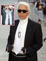 Karl Lagerfeld pone verde a Pippa Middleton... ¡¡con lo mona que va esta chica siempre!!