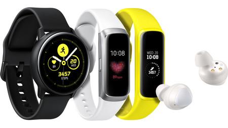 Samsung redobla esfuerzos en wearables: llegan los auriculares Galaxy Buds y los cuantificadores Galaxy Fit y Galaxy Active