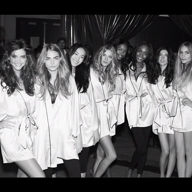 Foto de El backstage de las modelos de Victoria's Secret (3/14)
