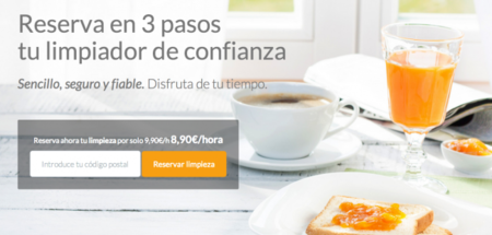 Wayook, el servicio español de limpiezas a domicilio