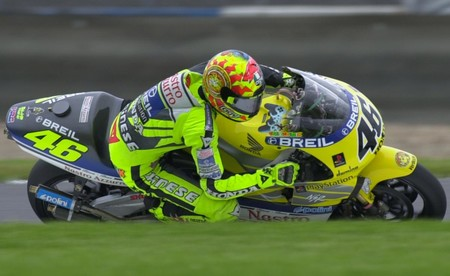 Rossi Donington Motogp 2000