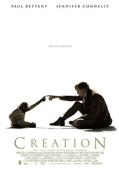 'Creation' con Paul Bettany y Jennifer Connelly, cartel