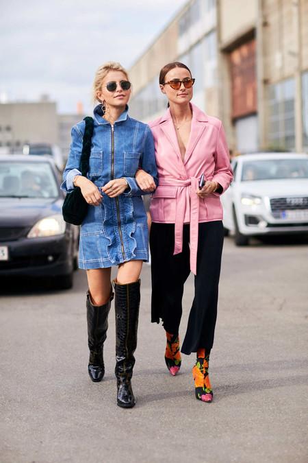 street style prenda it botines balenciaga flores viral