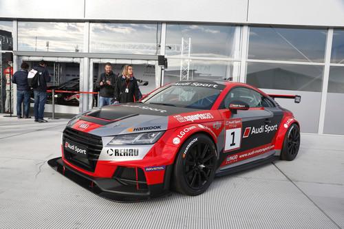 Así de espectacular es la Audi TT Cup, la copa monomarca que todos querríamos correr