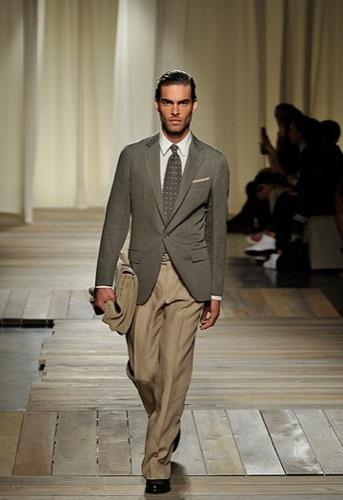 Ermenegildo Zegna, Primavera-Verano 2010 en la Semana de la Moda de Milán