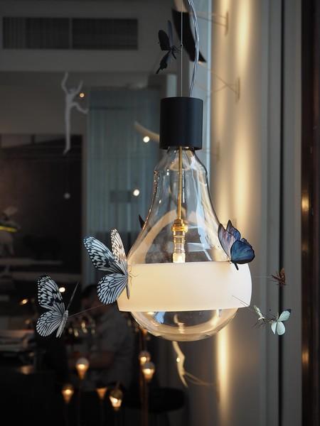 Lámpara Flatterby