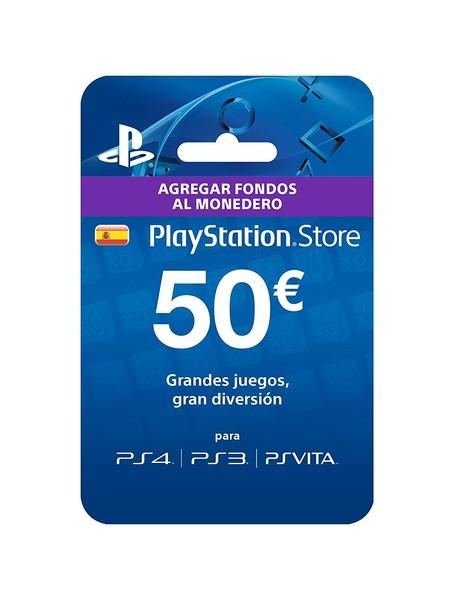 Tarjeta prepago de 50 euros para PlayStation Store por 39,99 euros