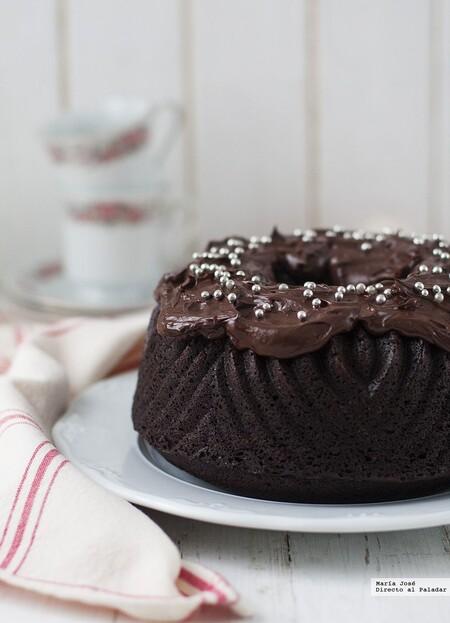 Bundt cake de doble chocolate