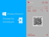 Windows Phone 8.1 puede leer los billetes del Passbook de Apple