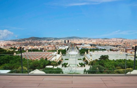 Vistas desde el Museu Nacional Catalunya