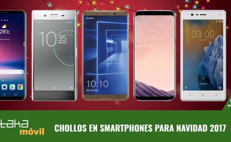 Los mejores chollos en smartphones con los operadores móviles por Navidad
