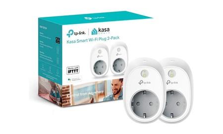 Tu hogar más inteligente, y tu factura de la luz bajo control con el pack de 2 enchufes TP-Link HS100, hoy en oferta flash, por 26,99 euros en Amazon