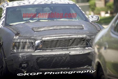 Nuevas fotos espía del Shelby Mustang GT500, ahora más reveladoras