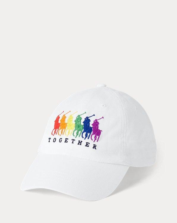Gorra con visera Pride de chino unisex