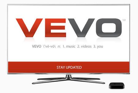 Vevo podría llegar al Apple TV y televisores Smart TV de Samsung en breve