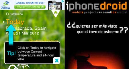 La publicidad móvil sigue sin cuajar: el 79% de la gente no los recuerda, según un estudio en Reino Unido