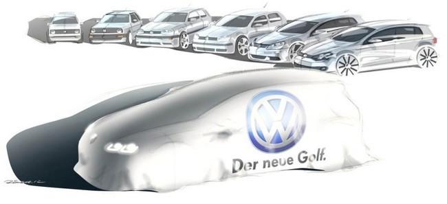 Volkswagen Golf 7 Teaser