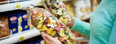 Pastas secas en el supermercado: tradicional, integral, con huevo o de legumbres ¿cuál es la opción más saludable?