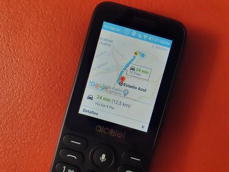 Alcatel 3078 Kaios Google Maps Mexico