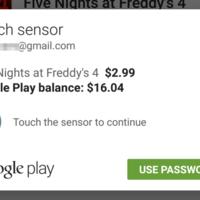 Google comienza a desplegar Imprint: usa tu dedo para pagar en Play Store