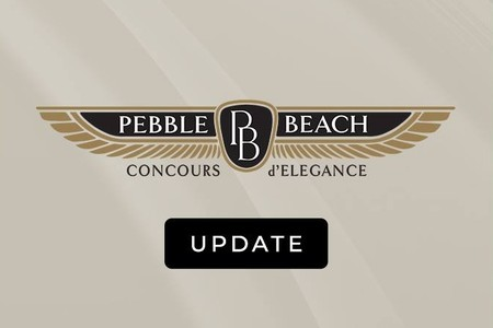 El Concours d'Elegance de Pebble Beach también será baja en 2020 a causa del coronavirus