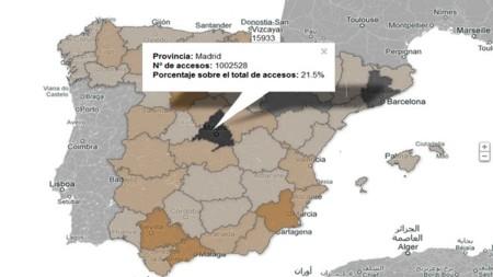 La CMT publica una radiografía de la Banda Ancha  española por provincias