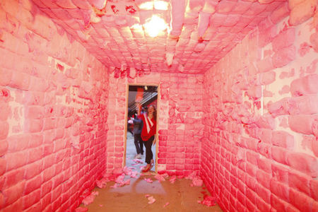 Padded cell, obra de Jennifer Rubell