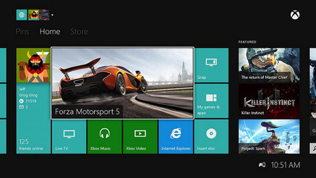 Xbox One empieza a recibir la actualización de febrero este fin de semana