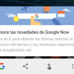 Google Now ahora guardará tus recordatorios de una forma más veloz