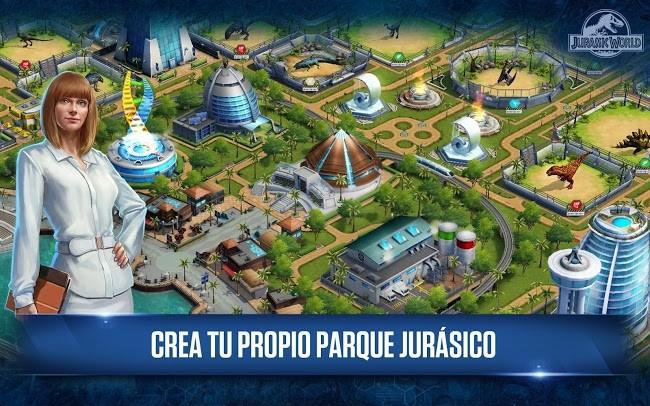 Jurassic world abre sus puertas en android con su for Puerta jurassic world
