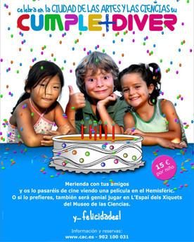 Celebrar el cumpleaños en la Ciudad de las Artes y las Ciencias