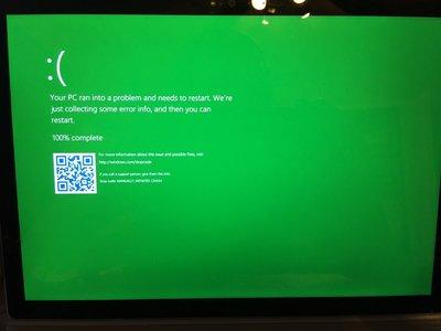 ¿Adiós pantalla azul de la muerte? Microsoft reemplazará su color por el verde