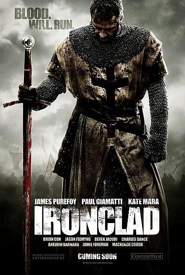 'Templario' ('Ironclad'), cartel