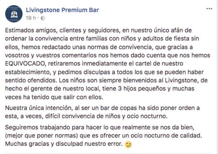 Comunicado Del Bar