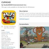 No, Cuphead no está disponible para iOS: una falsificación del juego aparece en la App Store