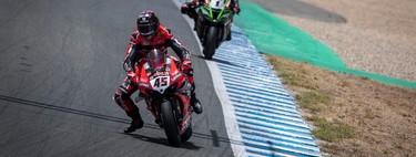 Scott Redding lidera el aplastante doblete de Ducati y Jonathan Rea se derrite en Jerez