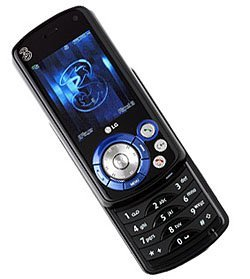 LG U400, con una rueda estilo iPod
