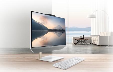 ASUS presenta el Zen AiO 24 (M5401), un ordenador de diseño con sonido Harman Kardon que no te dará vergüenza lucir en el salón