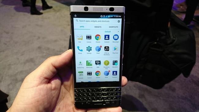 Nueva BlackBerry en camino: sin teclado físico y, por primera vez en su historia, con resistencia al agua