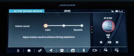 Jaguar I-PACE indicador sonido