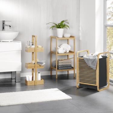 Dale un toque natural y sostenible a tu baño con la nueva línea de productos de bambú de Aldi