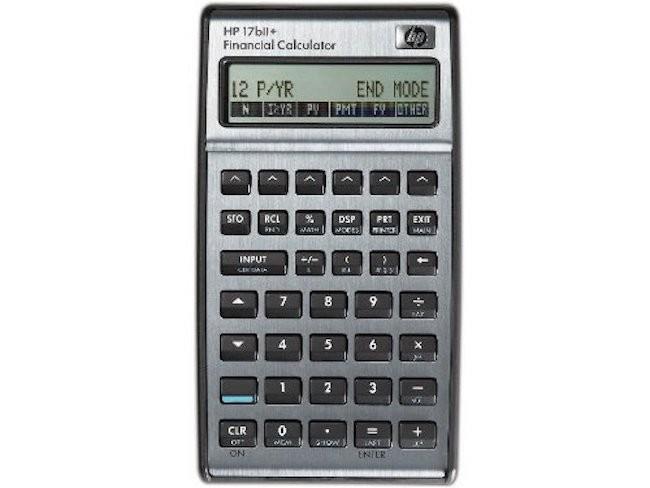 Hewlett Packard HP17BIi+