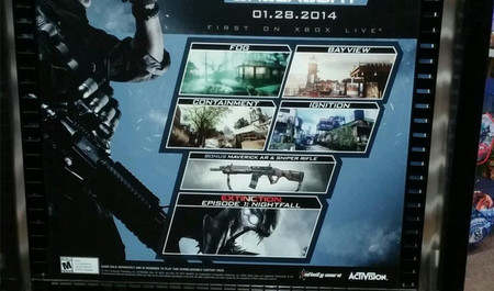 El primer DLC de Call of Duty: Ghosts llegará a finales de enero