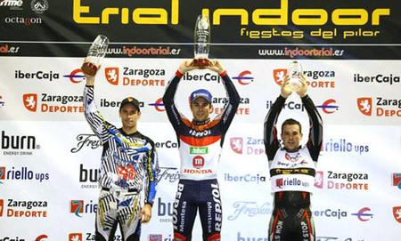 Cómodo triunfo de Toni Bou en el Trial Indoor de Zaragoza