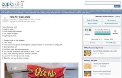 CookSkills, promoción de recetas de cocina a través de las fotografías