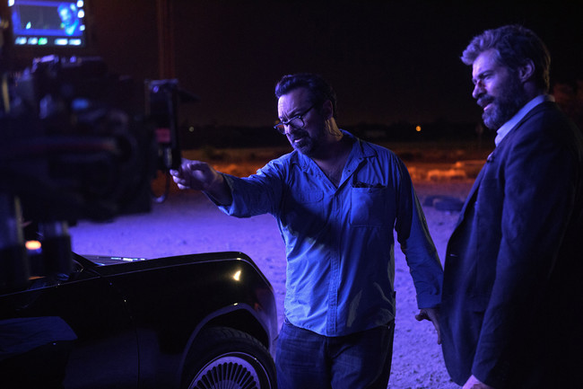 Logan James Mangold Con Hugh Jackman