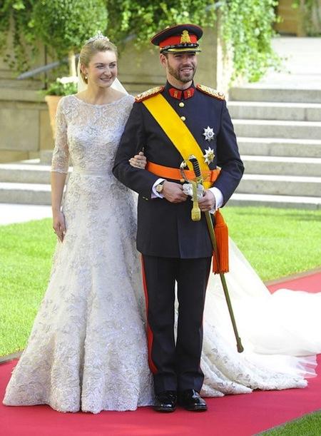 Boda de los Príncipes de Luxemburgo: mucho vestido soso y nos quedamos sin soltero de oro